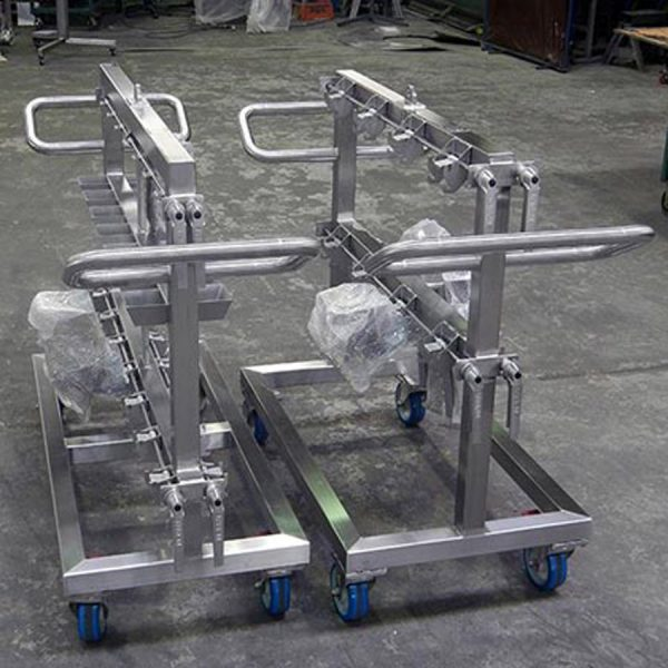 Change parts trolley