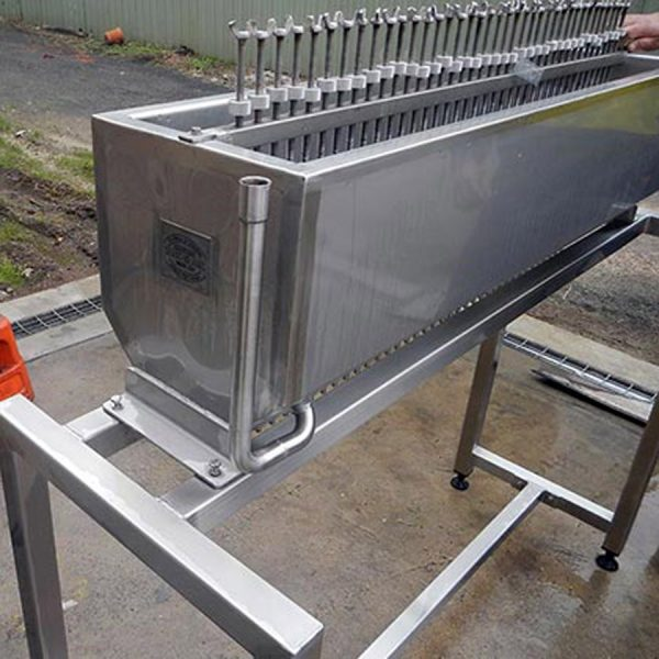 Jacketed product filler
