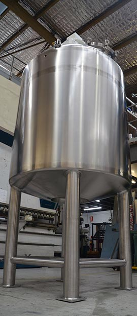 stainless steel mix tank